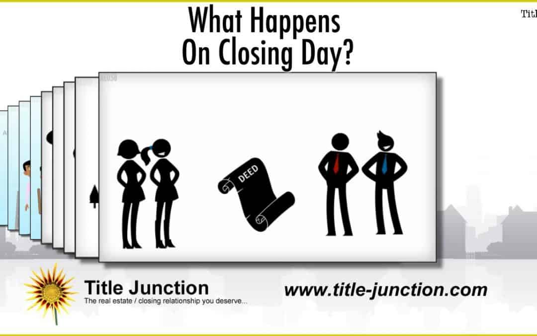 What Can I Expect To Happen On Closing Day?