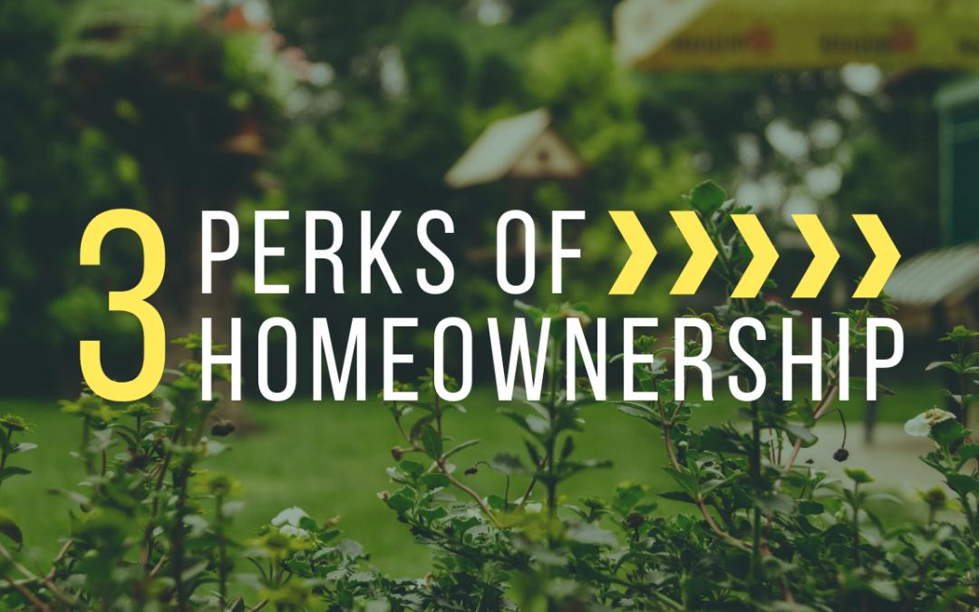 3 Perks of Homeownership